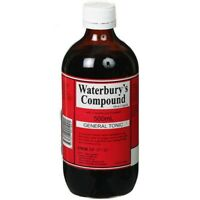 WATERBURY'S COMPOUND GENERAL TONIC 500ML WATERBURYS WITH CREOSOTE GUAIACOL