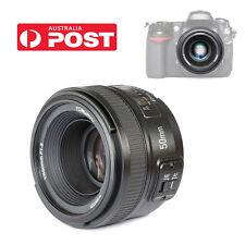 Yongnuo YN50mm F/1.8 AF Lens Auto Focus for Nikon Cameras AF-S 50mm 1.8G AU