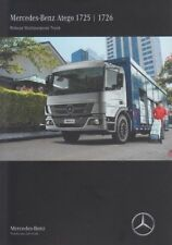 MERCEDES ATEGO 1725 1726 2018 BRAZILIAN INCL. MILITARY APPLICATIONS 4x4 BROCHURE