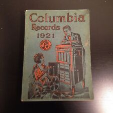 Original COLUMBIA RECORDS 1921 Annual Catalogue/Catalog 78 RPM