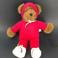 VTG Albert The Running Bear Red Outfit North American Bear Co BARBARA ISENBERG