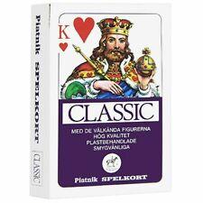 PIATNIK Spelkort Classic No.1458 Playing Cards Swedish Series 55 Deck Austria