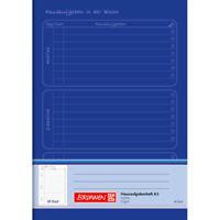 Brunnen Aufgabenheft Hausaufgabenheft 48 Blatt blau 10-46814