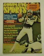1973 Complete Sports Magazine Joe Namath New York Jets