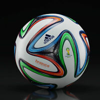 ADIDAS BRAZUCA OFFICIAL FIFA WORLD CUP 2014 BRAZIL SOCCER MATCH BALL SIZE 5