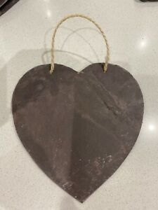 Handmade Slate Love Heart
