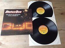 STATUS QUO 12 GOLD BARS VOLUME 1 + VOLUME 2 '84 VERTIGO 2LP VINYL SET NEAR MINT