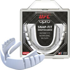 Opro Ufc Adult Snap-Fit Gum Shield Mouthguard - White