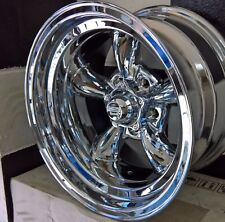 15x8.5  5//114.3 FORD AMERICAN RACING VN605  CHROME WHEELS