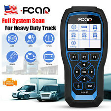 Heavy Duty Truck Diagnostic Scanner HD Car Code Reader ABS SRS TPMS IMMO Engine