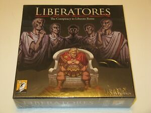 Liberatores NEW Conspiracy to Liberate Rome support/overthrow Caesar boardgame