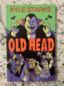 Old Head Kyle Starks Graphic Novel Comic Book TPB 2020 Signed Inside 1st Pg J590