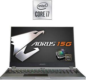 """GIGABYTE AORUS 15G WB i7-10750H 16GB 512GB SSD 8GB RTX 2070 15.6"""" FHD 240HZ 6073"""