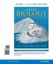 Campbell Biology: Concepts & Connections 8th edition loose leaf