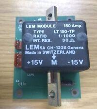 LEM LT150-TP Current Module 1:1000 Ratio 30Ω 150A