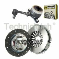 NATIONWIDE 2 PART CLUTCH KIT AND LUK CSC FOR RENAULT FLUENCE BERLINA 1.5 DCI