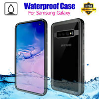 For Samsung Galaxy S10/ E/ Plus Case Waterproof Shockproof  Dirtproof Hard Cover