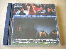So you wanna be a rock 'n' roll compilation? 1995 CD NRA Alloy Slime Zero Boys