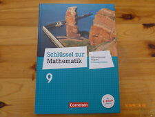 Schlüssel zur Mathematik - Differenzierende Ausgabe / 9. Schulbuch