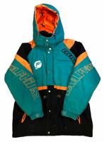 Vintage 90's TRIPLE FAT GOOSE NFL Miami Dolphins Jacket Size XL