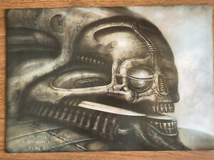 H R Giger Dune VI 6 Poster Offset Lithograph Print (c)1976 - 80's
