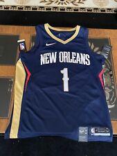 NEW! Nike Pelicans Zion Williamson Icon Edition NBA Swingman Jersey Size Large