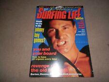 Australia's Surfing Life Magazine June 1993 Jonny Boy Gomes Chad Edser Boards