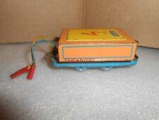 Vintage Hans Biller Tin Train Battery Tender US Zone Germany Narrow Gauge