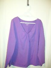 Fashion Bug  Top Pullover  Long Sleeve  Size 22 /24W
