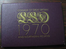 GREAT BRITAIN - 1970 PROOF SET PS26. THE LAST EXAMPLES OF PRE-DECIMAL COINAGE