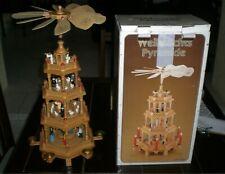 CHRISTMAS PYRAMID OLD DECORATION SAXONY