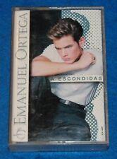 A Escondidas, Emanuel Ortega Cassette, Complete & Tested