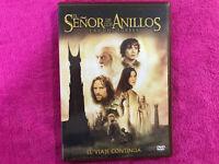 EL SEÑOR DE LOS ANILLO BOX SET 2 DVD LAS DOS TORRES EL VIAJE CONTINUA