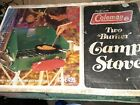 Vintage Coleman 425E499 Two Burner Camping Stove Brand New In Box Unused