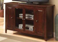 Acme Furniture 91014 Vida Contemporary Espresso Tv Stand by Furniture NEW