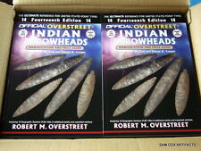 Overstreet Price Guide 14th Edition Wholesale Cases Indian Arrowheads Artifacts