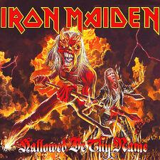Iron Maiden-Hallowed Be Thy Name EP Vinyl LP Heavy Metal Sticker, Magnet