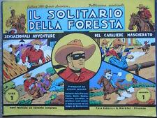 Il Solitario della Foresta Collana Albi Grandi Avventure Episodio 1 1970  [G369]