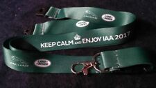 Original Jaguar Land Rover Schlüsselband Lanyard Keep Calm IAA 2017 grün green