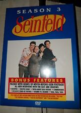 Seinfeld Season 3 Volume 2  [DVD Set] New and Sealed