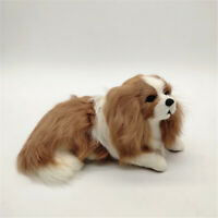 Realistic Simulation Charlie Dog Toy Doll Plush Animal Pet Ornament Kids Gift