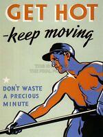Propaganda War WWII Allies Work Industry Precious Effort Canvas Print
