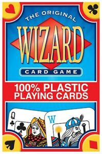 NEW - Wizard® Card Game 100% Plastic Playing Cards by U.S. Games System