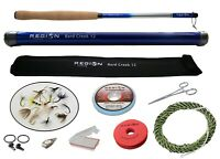 Tenkara Fly Rod - Bard Creek 12' w/ Starter Kit - Japanese Carbon Fiber