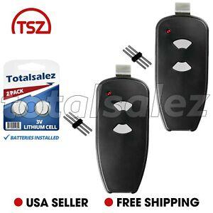 2 Fits Marantec M3-2312 315 MHz Two Button Remote Garage Door Opener