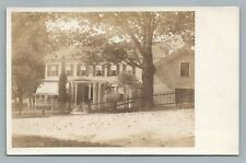 Beautiful Wooden House RPPC Lebanon Springs NY Antique HM Gillet Photo UDB 1910s