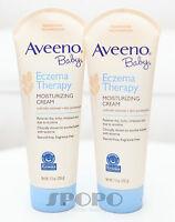 Aveeno Active Naturals BABY Eczema Therapy Moisturizing Cream (207g) Twin Pack