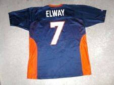 Vintage Denver Broncos JOHN ELWAY Champion Football Jersey men's 44 Large