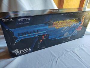 NERF RIVAL NEMESIS MXVII-10K * BRAND NEW BLASTER * TEAM BLUE AWSOME!!!