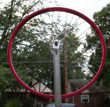 "Old School BMX Araya Red Rim 26"" Campagnolo Large Flange Hub Early 80's Cruiser"